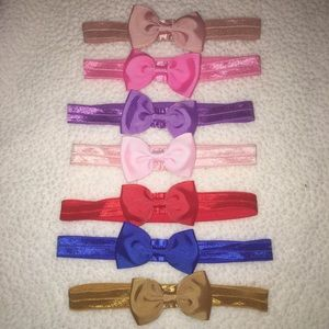 Baby Girl Bow Band